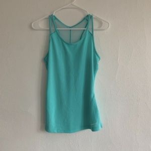 Women's Nike Blue Green Tank Top